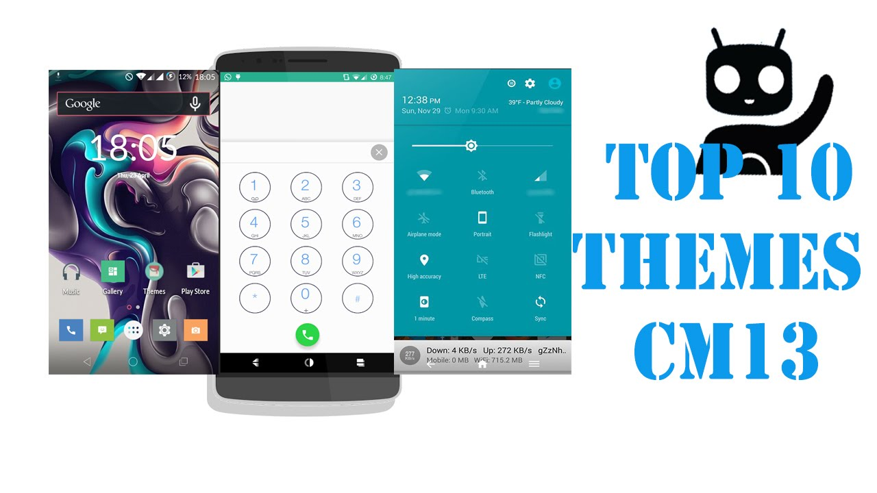 top 10 cm 12 13 themes 2016 free themes cm13 youtube