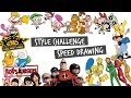 Style Challenge ft. Nickelodeon, Cartoon Network, Disney and more! | Vivian Wong