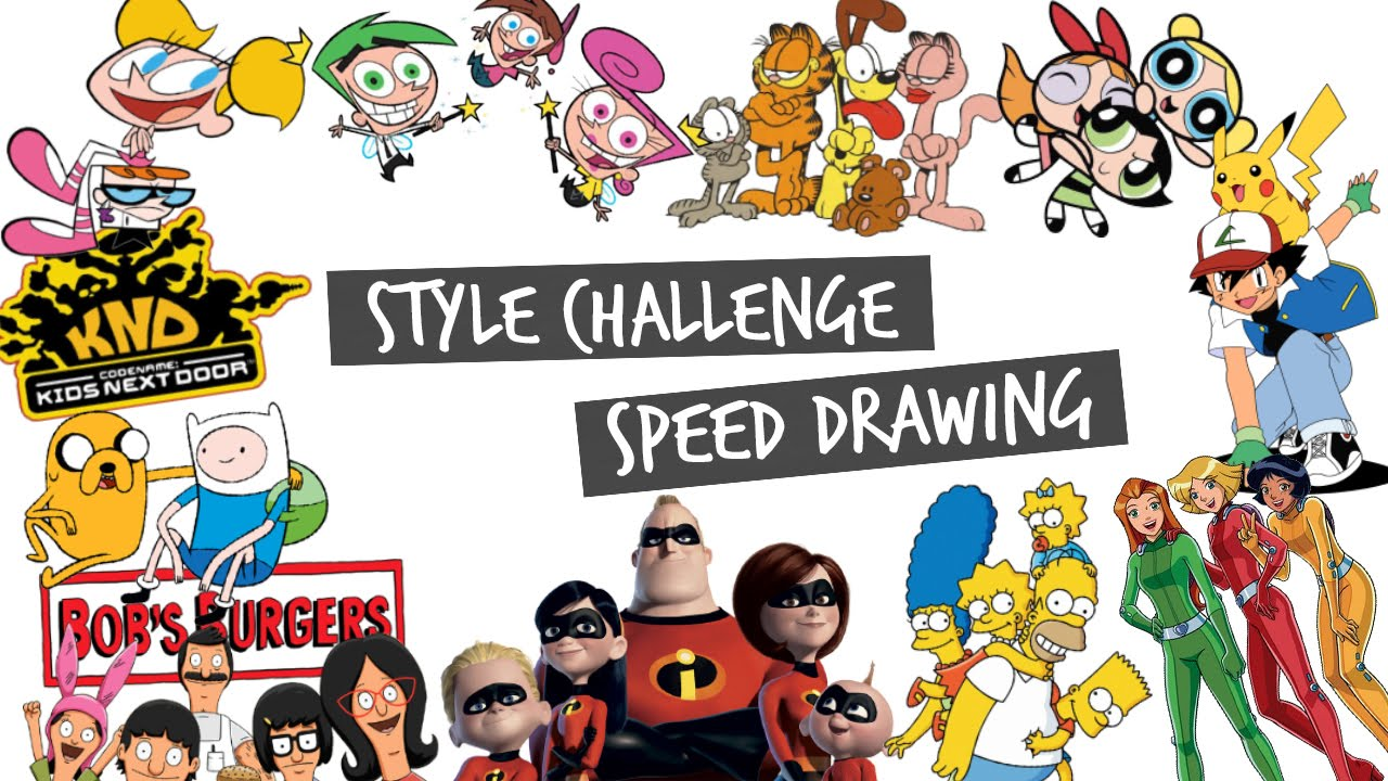 Nickelodeon Character Designer Salary : Style challenge ft nickelodeon cartoon network disney