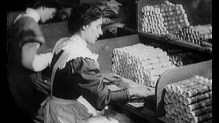 Making Christmas Crackers (1910)  | BFI National Archive