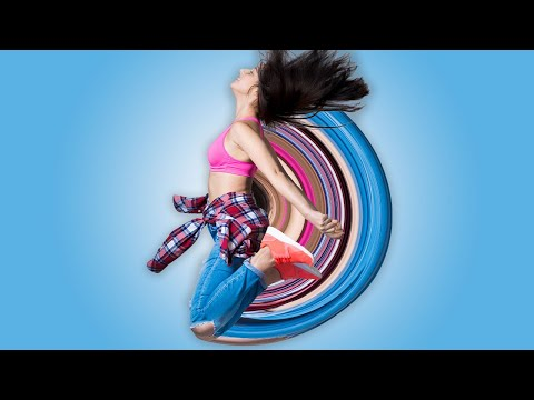 How to Create a Circular Pixel Stretch Effect in Photoshop | Photoshop Tutorial thumbnail