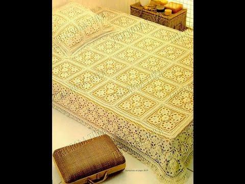 Crochet Bedspread Free Simplicity Patterns136 Youtube