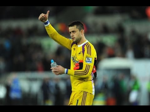 Łukasz Fabiański - Best Goalkeeper - Swansea City [HD]