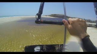 100 km Kitesurf Downwinder from Perth to Lancelin (Western Australia)