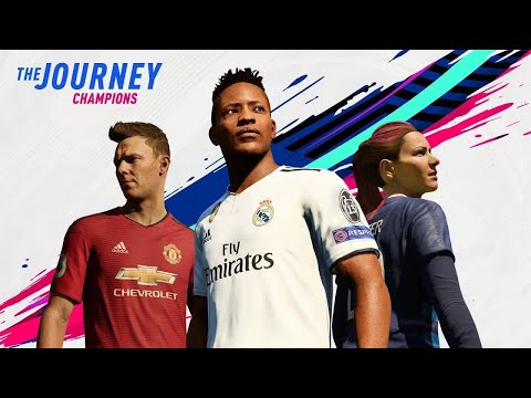 FIFA 19 THE JOURNEY TRAILER REACTION