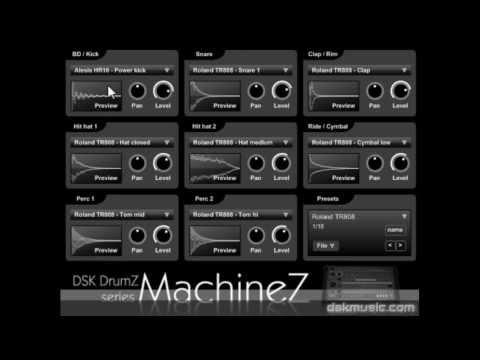 DSK DrumZ MachineZ - Free VST