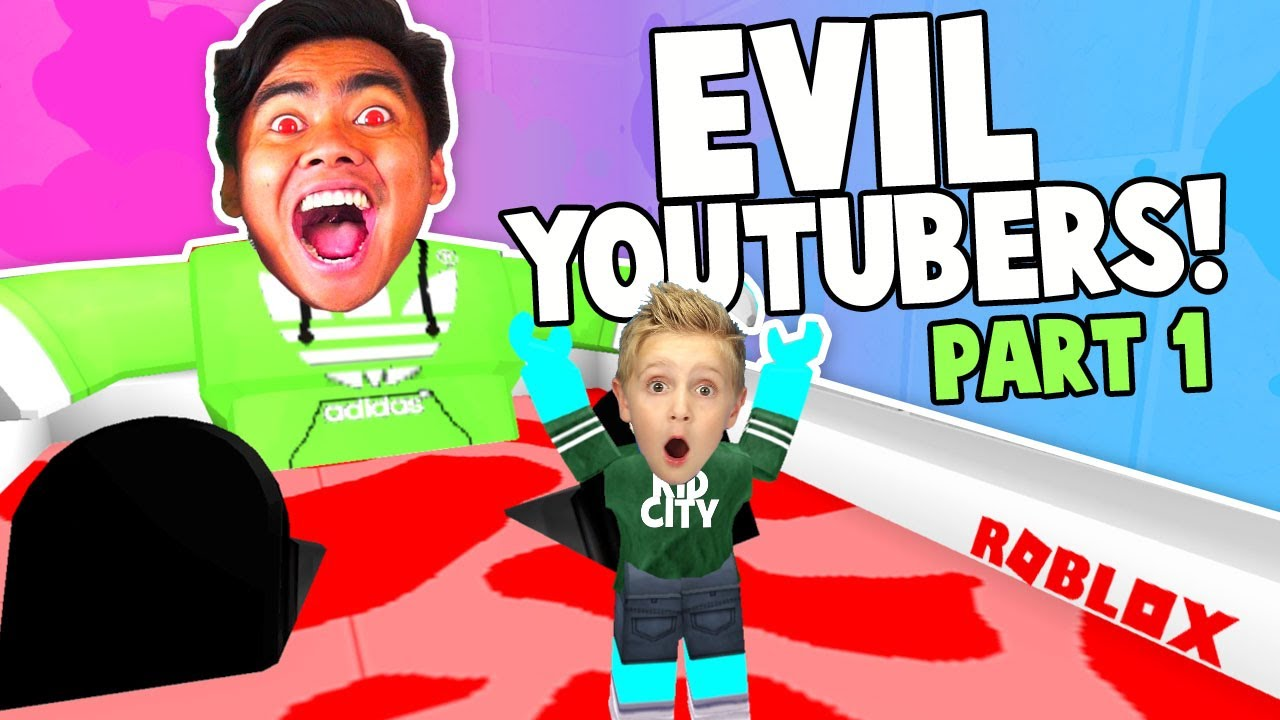 Escape The Evil Youtubers Roblox Obby Guava Juice Denis More