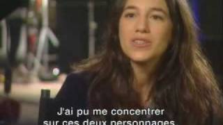 """Charlotte Gainsbourg short interview about """"I"""