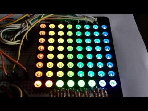 Review 8x8 RGB Dot Matrix Arduino