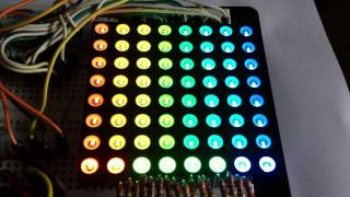 Flexible 8x8 NeoPixel RGB LED Matrix - Gnration