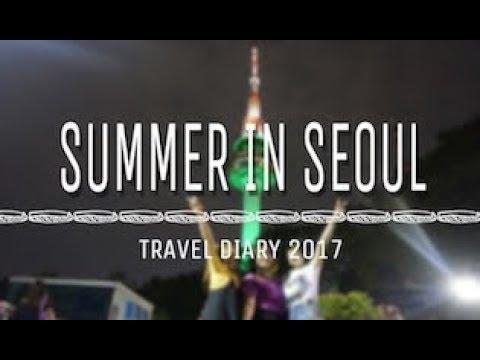 VLOG: Summer in Seoul, Korea | Travel Diary 2017