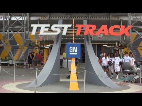 Test Track Tribute - Full ride, queue, pre-show, and post-show at Epcot