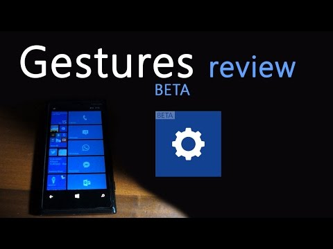 Gestures Beta on Lumia 920 - Answer a call by putting the phone to your ear!
