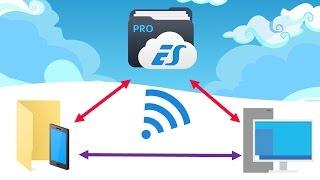 Como transferir arquivos do PC para Android via WIFI   PARADROPS #19