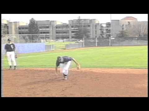 Baseball practice infield drill, Slow rollers,