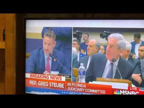 President Trump Bullies Robert Muller During Hearings Via Threat On Twitter