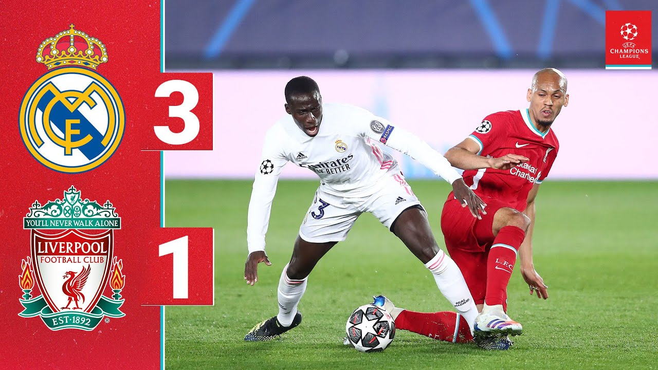 Download Highlights: Real Madrid 3-1 Liverpool | Reds beaten in Champions League