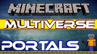 [Bukkit-Plugin] Multiverse Portals / Portale für jede Gelegenheit!