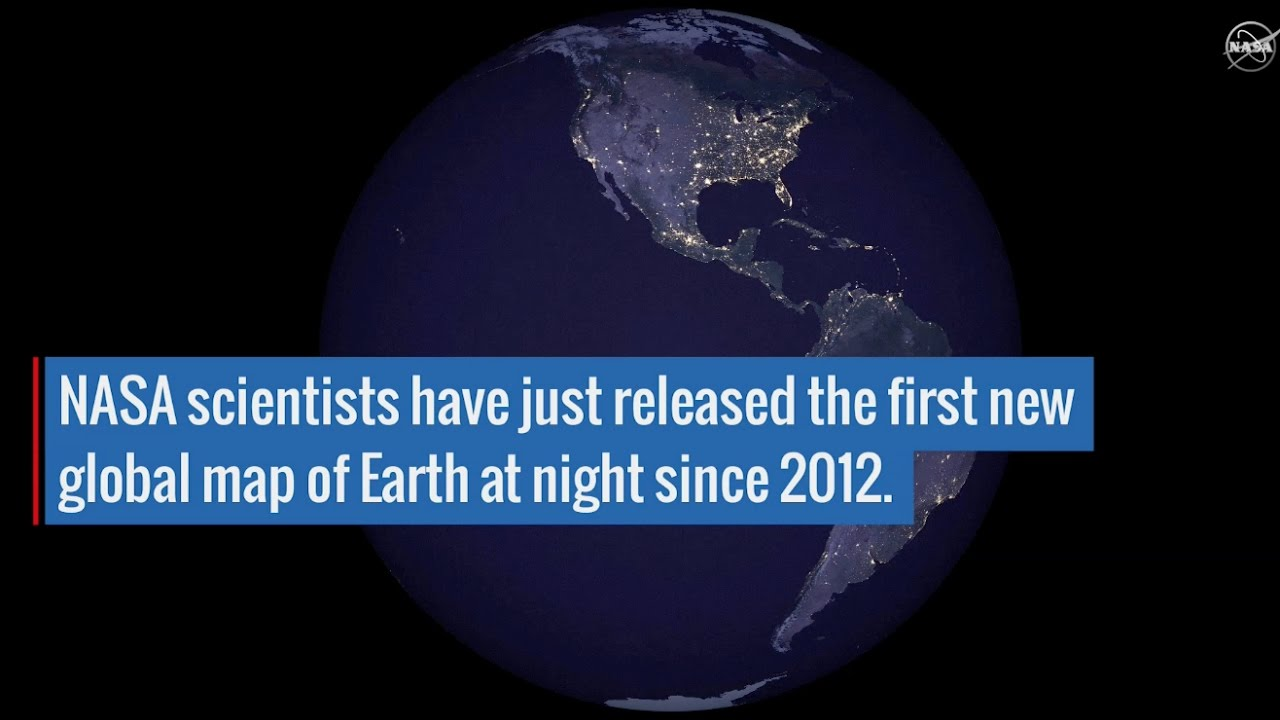 New nighttime look at earth reveals human activity youtube new nighttime look at earth reveals human activity gumiabroncs Choice Image
