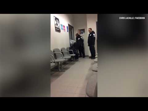 Raw video: Maniwaki courthouse shooting