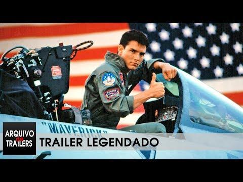 Top Gun - Ases Indomáveis (Top Gun 1986) - Trailer Legendado 4K
