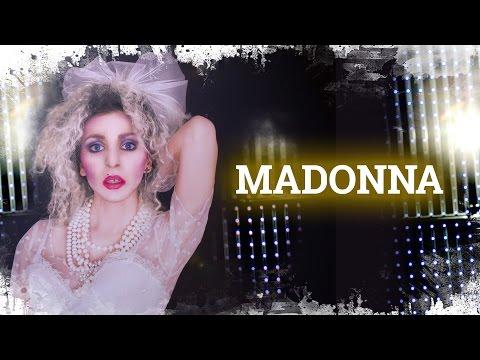 Madonna Look & Makeup | Cómo disfrazarse de Madonna 80's  | Déguisement années 80 style Madonna