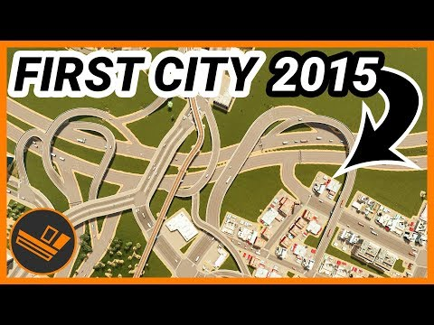 Looking Back At My First City EVER In Cities: Skylines
