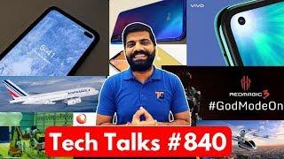 Tech Talks #840 - Vivo Z1 Pro, Pixel 4, Chandrayaan 2, Whatsapp Warning, Air France LiFi, Uber Air
