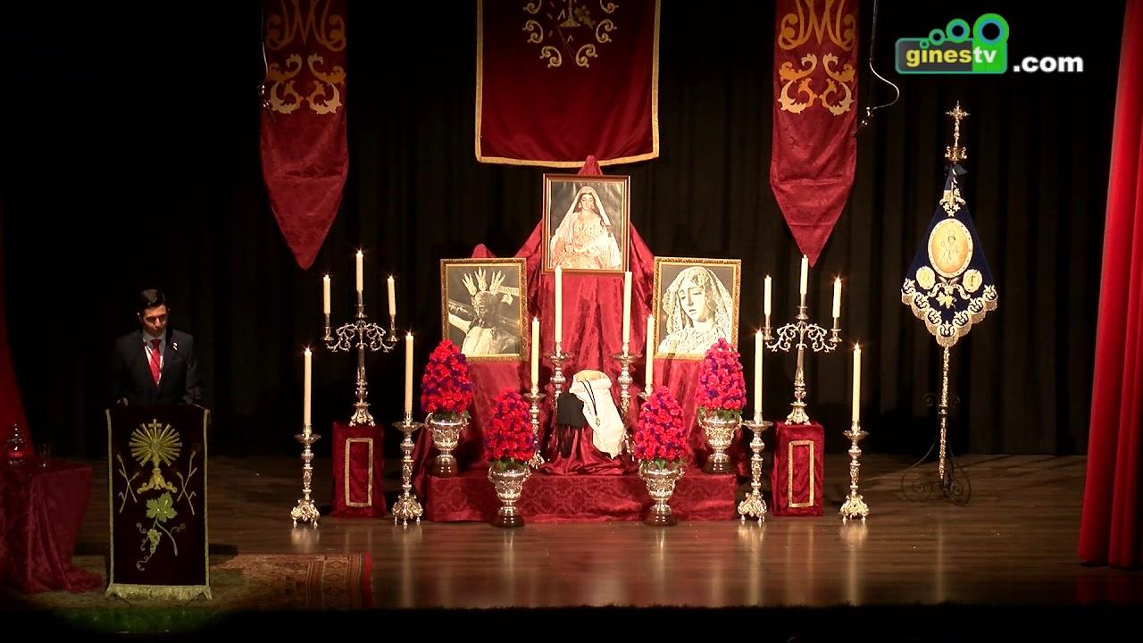 Ricardo Calvo hizo realidad el XV Pregón Joven de la Hermandad Sacramental