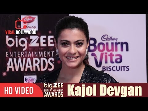 Kajol Devgan At Big Zee Entertainment Awards 2017 | Viralbollywood