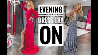 Beautiful Evening Dresses Try On With Mom | Prom & Formal Gowns