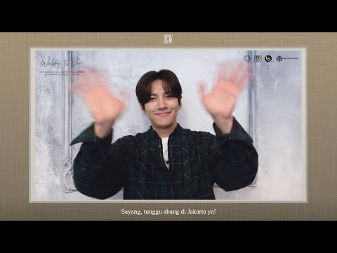 [OFFICIAL GREETINGS] 2020 JI CHANG WOOK ASIA FANMEETING TOUR 'Waiting For You' IN JAKARTA