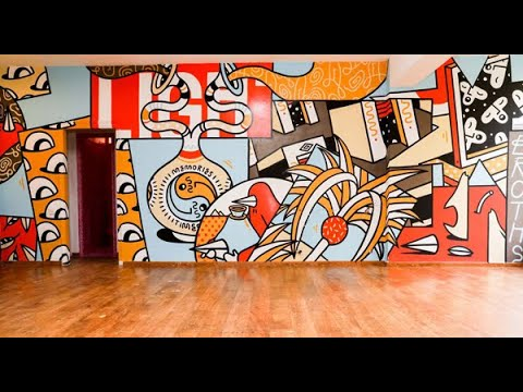 Wall To Wall Art: Tel Aviv Israel Pop-Up Graffiti Museum. Free Admission. Not To Miss
