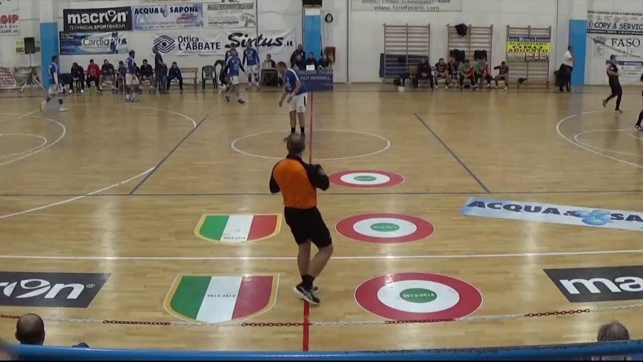 Serie A1M [11^]: Fasano - Valentino Ferrara 36-21