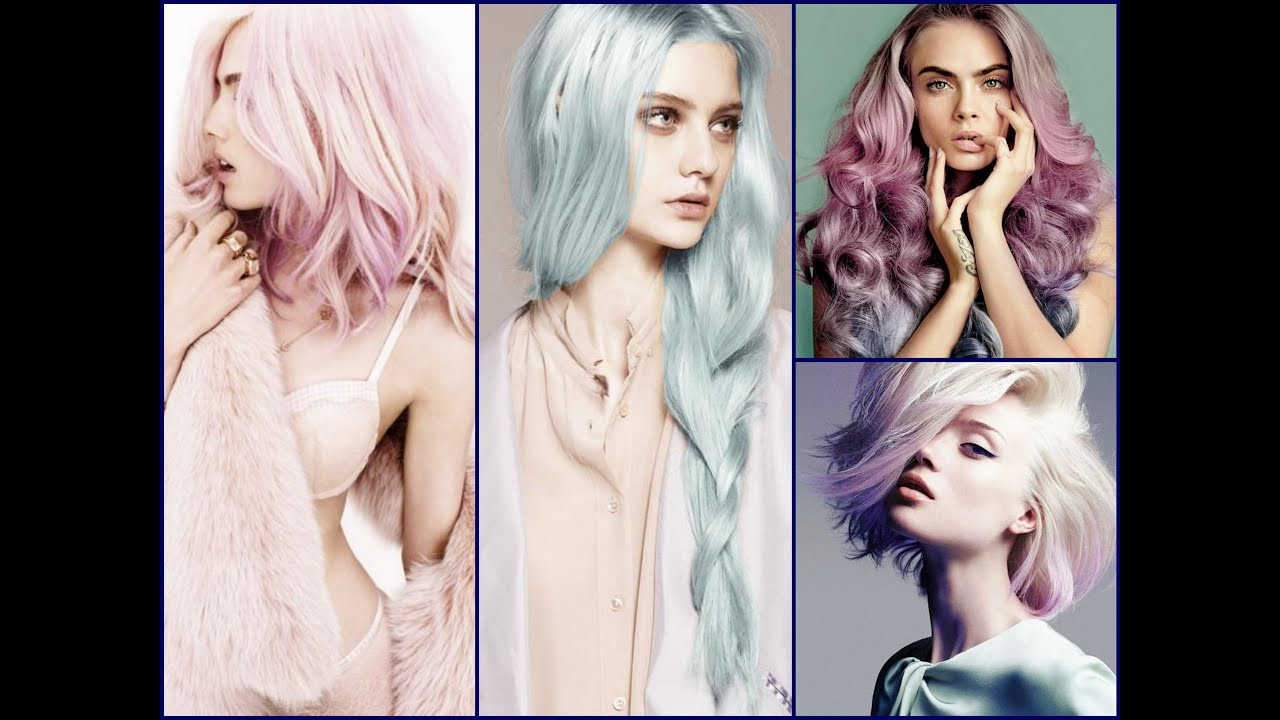 Pastel Hair Color Trends