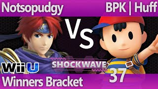 SW 37 Wii U - Notsopudgy (Roy) vs BPK | Huff (Ness) - Winners Bracket