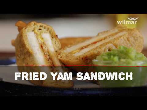 Fried Yam Sandwich