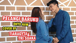 Download lagu PELANGI BARUKU - DHYO HAW (LIRIK) COVER BY TIARAGYTA FT. TRI SUAKA
