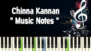 Chinna Kannan Azhaikiran (kavikuyil) Piano Notes /Midi File /Karaoke