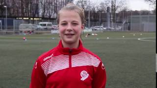 im Spiel 17/2 Tricks am Ball - Kristin Kögel - Zidane-Trick