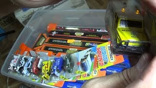 NCTC05 Time Capsule Matchbox Plastic Tubes, Hot Wheels NBA, Matchbox Premier With Rubber Tires