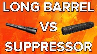 black ops 3 in depth long barrel vs suppressor