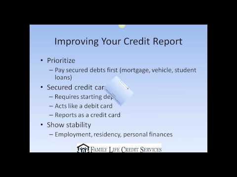 How Can I Repair My Credit Report