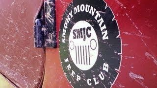 smoky mountain jeep club on hurricane creek trail
