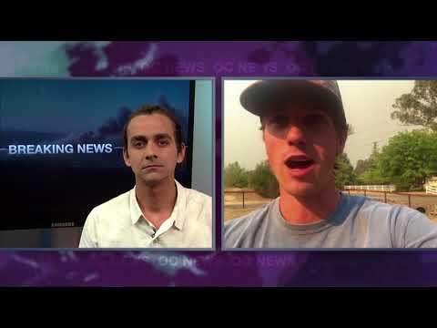 OC NEWS | Anaheim Hills and Sonoma Fires - Milo Yiannopoulos at CSUF 10-9-17