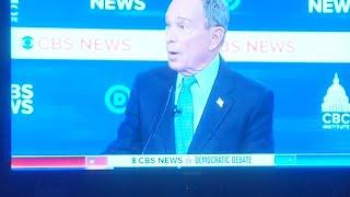 Bloomberg Freudian slip He bought Democratic politicians