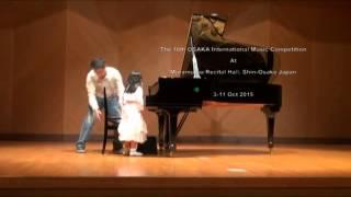 PuiFai @ final round 16th Osaka International music competition