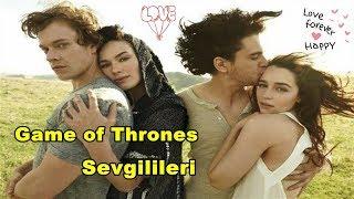 Game of Thrones Oyuncularının Sevgilileri