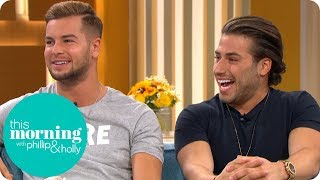 Love Island's Chris and Kem Deny That Kem Kissed Kendall | This Morning