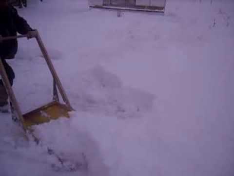 самоделки уборка снега